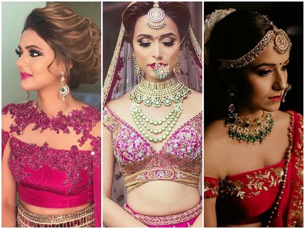 Bridal Fashion: ब्लाउज के सेक्सी Neckline Designs