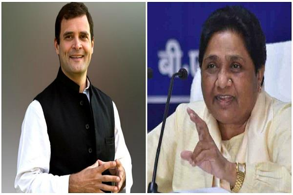 mayawati congratulates rahul on birthday
