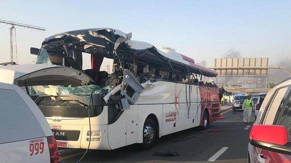 dubai bus crash 11 indian victims bodies flown home