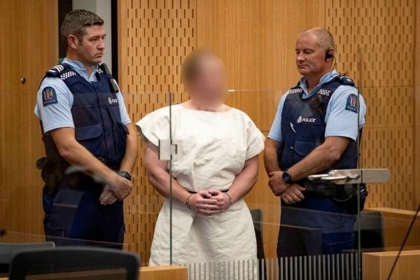 christchurch mosque attack the accused said i am innocent