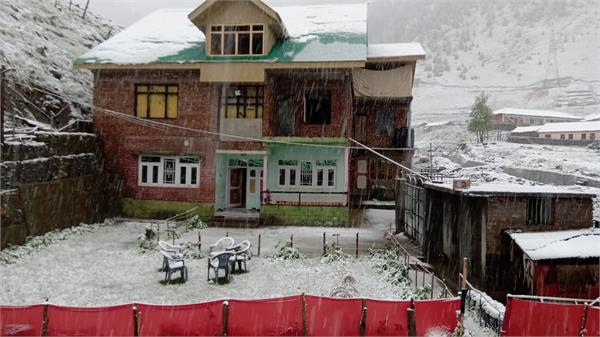 snowfall in kashmir in month of june