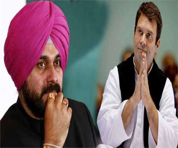 sidhu can take big decision after meeting rahul today