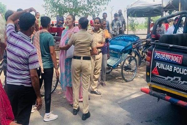 jailed for sending abusive language against dalit community