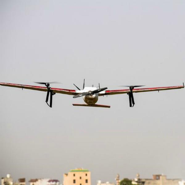 zomato successfully tests drone food delivery