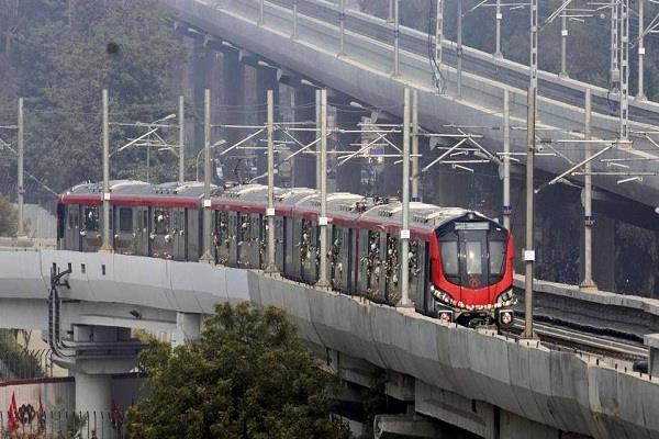 number of people traveling from lucknow metro reached 1 11 million