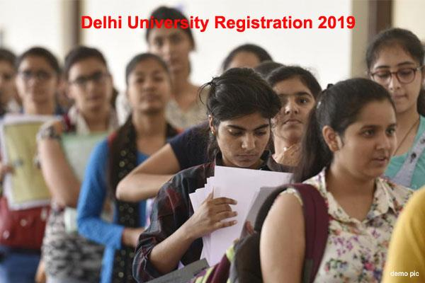 delhi university 2019 for admission closure at du on saturday night at 12 noon