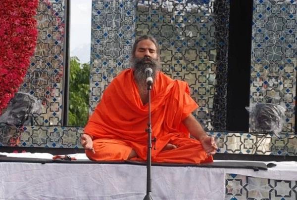 baba ramdev has done yoga