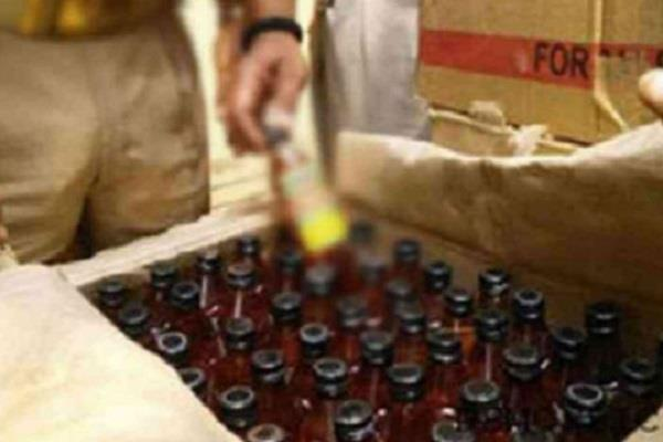 103 bottles of liquor recovered in 5 cases