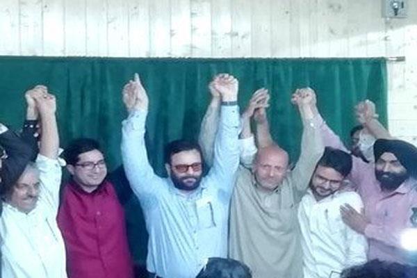 engineer rashid and shah faesal join hands