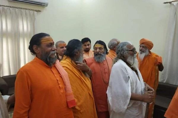 sant samaj and vhp leaders are done meeting at haridwar