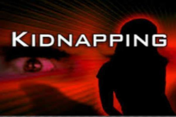 kidnapped minor girl