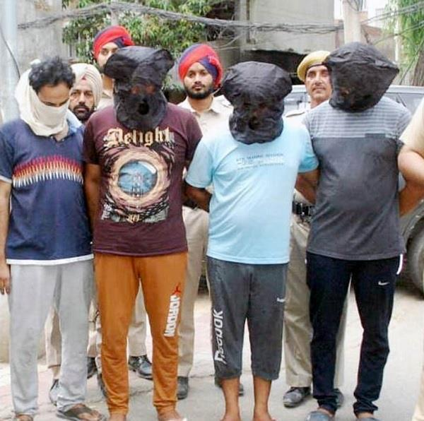 4 robbers arrested