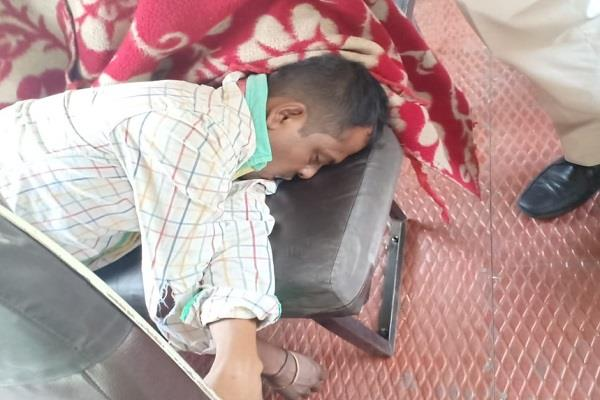 body of the person found inside the bus stand inside the bus stand