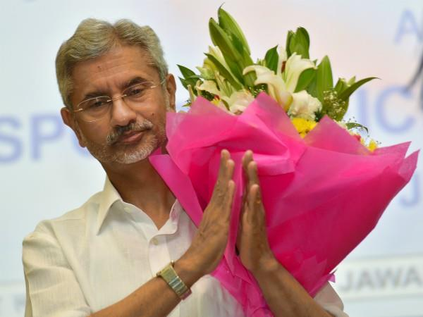 foreign minister jaishankar formally included in bjp