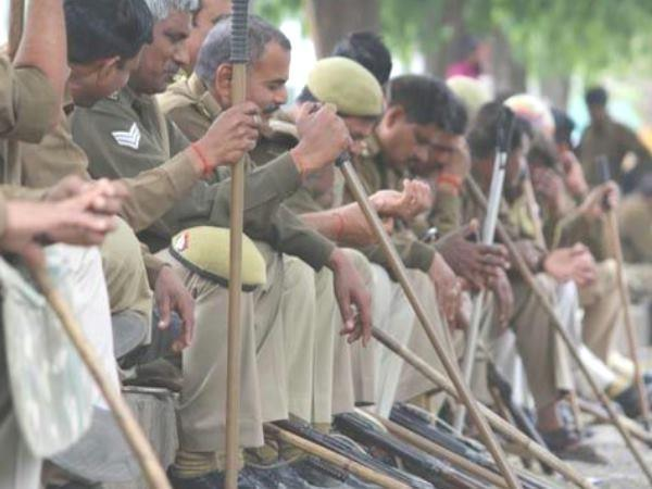 security increase in siddhartha nagar for eid