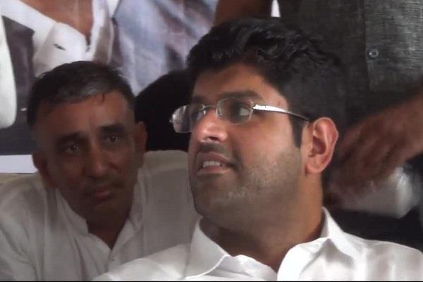 dushyant chautala said jjp aap alliance will be in future