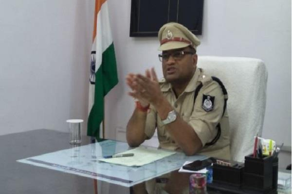 sp amit has filed a new decree for policemen working in the sun