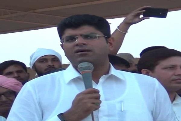 jjp dushyant chautala will consider changing slippers