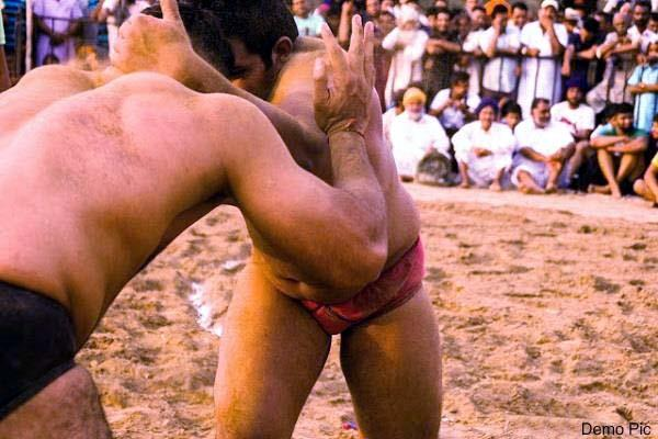 wrestling in gangth