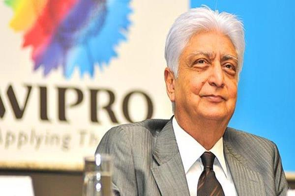 azim premji s pay package rose 95 pc to 262 054 in fy 19 wipro