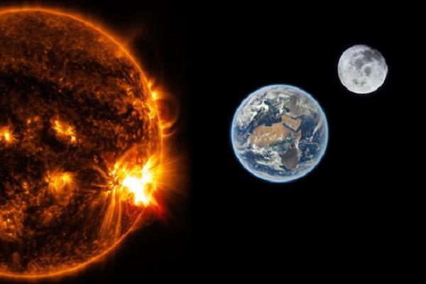 sun s history hidden in moon s crust nasa