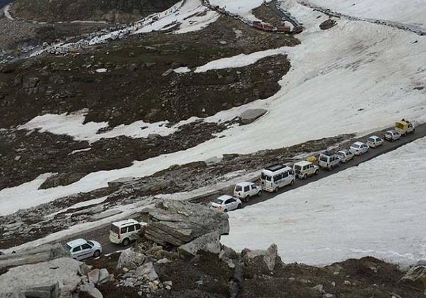 manali leh road 8 months later ran as soon restored vehicle