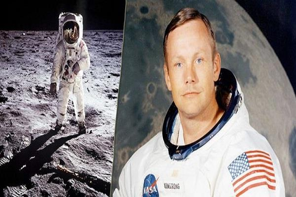 television tv screen neil armstrong earth