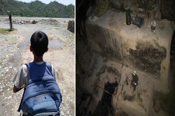 nasha smugglers have not even spared children