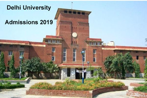 du admissions 2019 undergraduate courses eligibility critteria issued