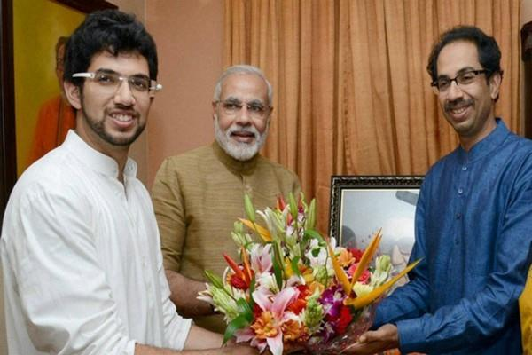 shiv sena demand aditya thakre to be made cm