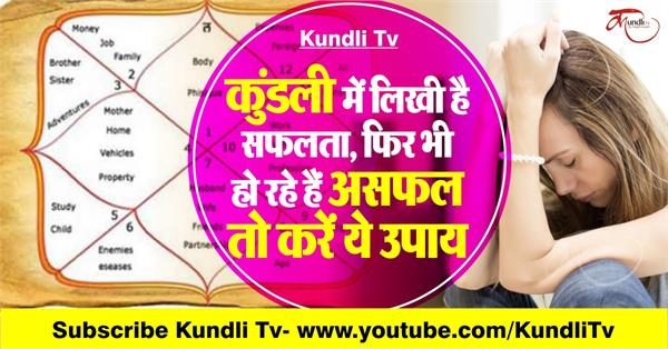 astrology solution for become successful