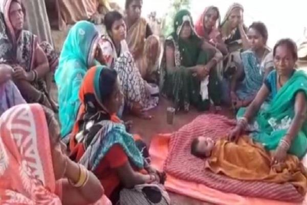 mass woes in mp innocent death in displaced colonies