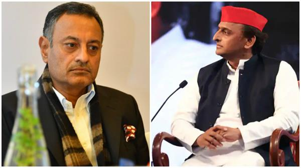 sanjay seth who plays a key role in sp bsp alliance meets akhilesh
