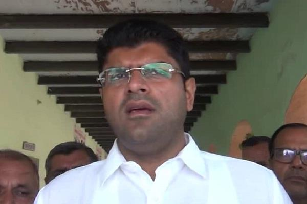 dushyant chautala controversial statement on employement