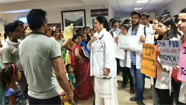 doctor protest