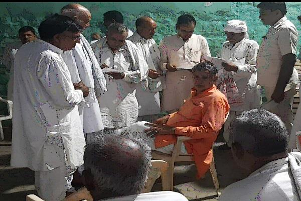 mp dharabir singh s claim will solve the problems of the people of the area