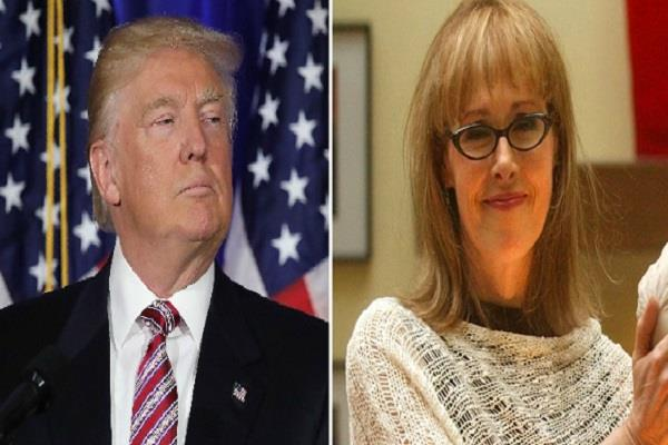 trump brushes off rape claim saying carroll is not my type
