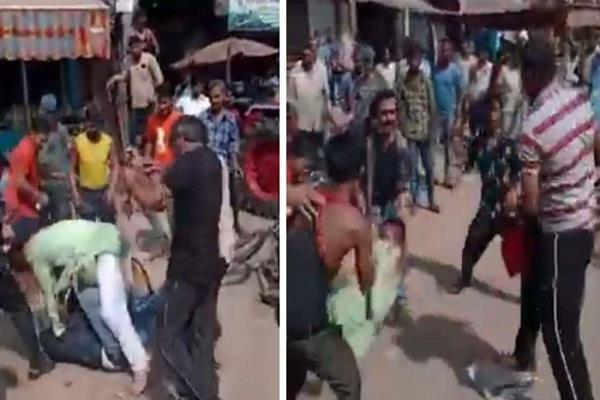 hotel owner and his aides beat armyman and youth in baghpat
