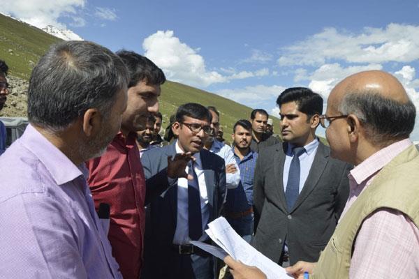 chief secretary visited mughal road