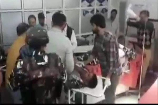 sho injured in anantnag militant attack fighting for life