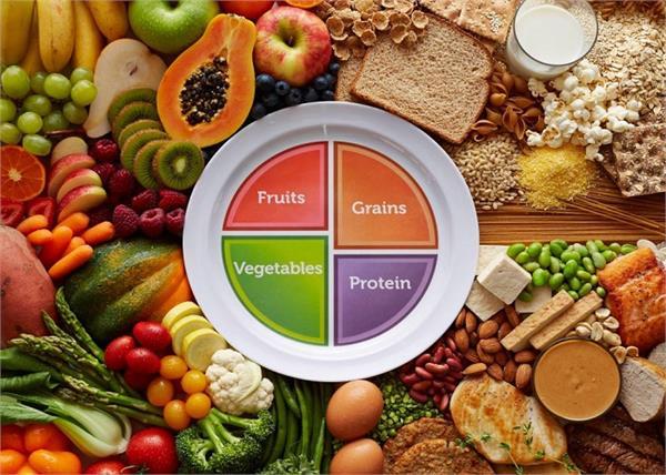 खाने की थाली में शामिल करें 50% फल व सब्जियां , बनी रहेगी सेहत