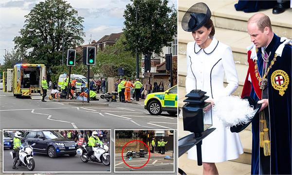 widow 83 hit by kate middleton and prince william s police outrider