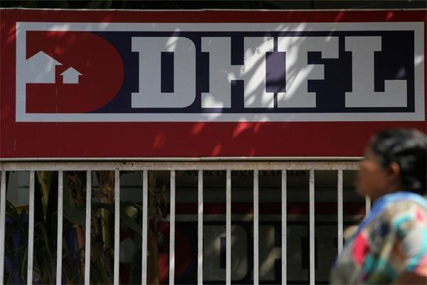 due to the defaults of dhfl the financial market