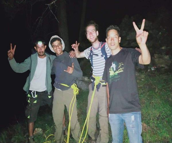 two israeli trekkers himalayan adventure rescue team