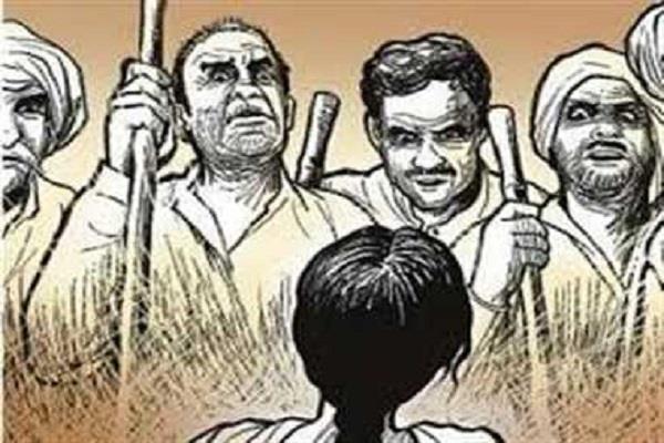 case of dalit harassment raising again in bhatla