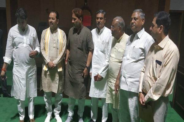 haryana assembly reached gujarat spiritual peace in sabarmati barala