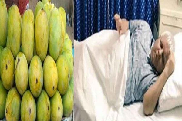 lalu yadav s increased sugar level doctors ban ban mangoes and nineties