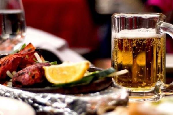 adm dilip mandavi removed heavy drinks and chicken demand