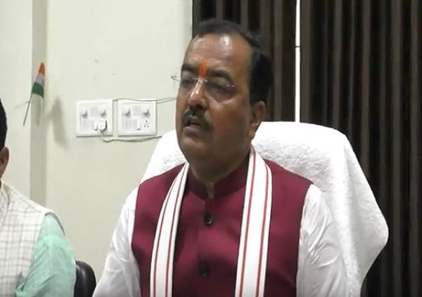 keshav prasad mourya spoke on crime
