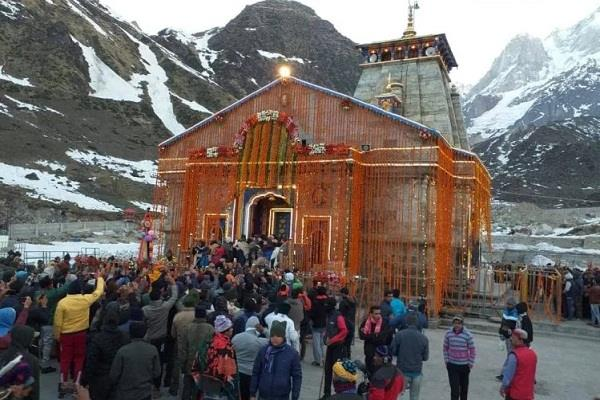 more than 7 lakh pilgrims visit kedarnath in one and a half months